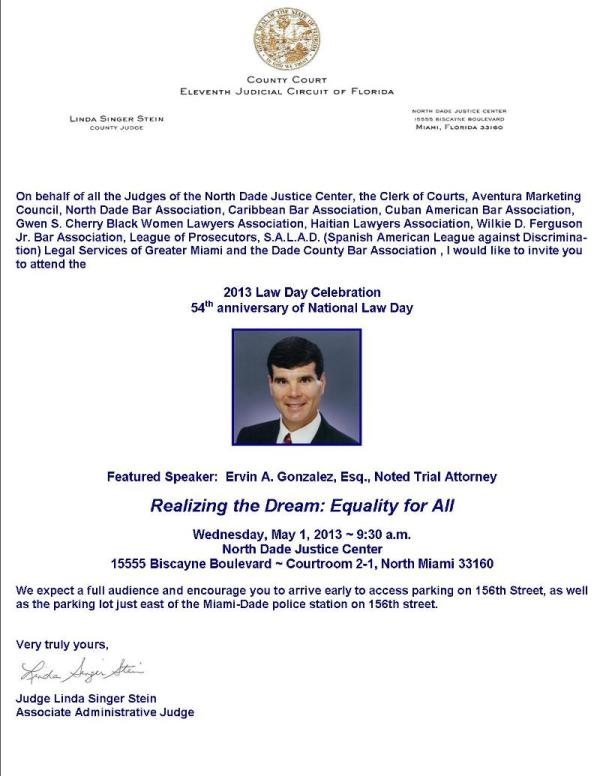 north dade bar association - law day